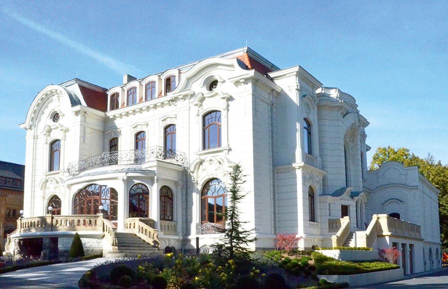 Motiv Weiße Villa